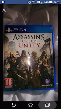 Assassin's Creed Unity PS4 étui de jeu Paris-9E-Arrondissement, 75009