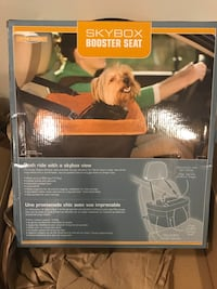 Small dog seat for the car - Skybox booster seat box Franklin, 02038
