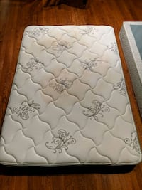Mattress with box springs.