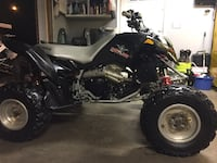 06 Polaris outlaw 500 w/reverse and title