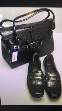 Stuart Weitzman handbag ( new with tag) with matching loafers. Nashville, 37209