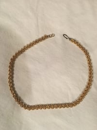 Vintage goldtone necklace  Gaithersburg