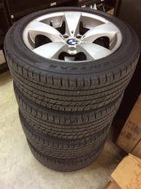 *BMW* wheels and tires 225/50/17 Madison, 27025