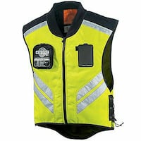 Icon Mil-Spec Mesh Motorcycle Vest Yellow Grey Gra Fredericksburg, 22401