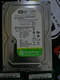 New hard drive with Free discs Vancouver, V5Z 1Y3