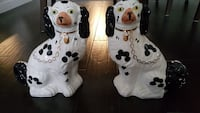 Staffordshire pair of dogs 20th century repro Oshawa, L1J 0A7