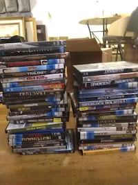 assorted DVD movie case lot Lafayette, 80026
