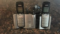 Two black-and-gray Vtech cordless phone Germantown, 20874