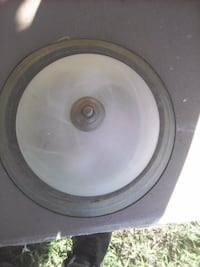 round black and gray subwoofer East Los Angeles, 90022
