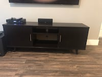 Espresso brown media cabinet Excellent condition Dallas, 75212