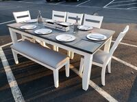 Dining table, chairs and bench  Virginia Beach, 23464