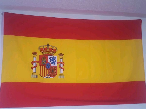 Spain Flag Really good condition.