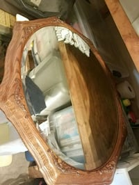 Wooden mirror moving 4/20 make an offer Silver Spring, 20905