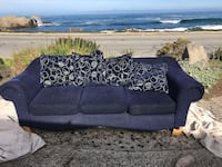 black 3-seat couch Pacific Grove, 93950