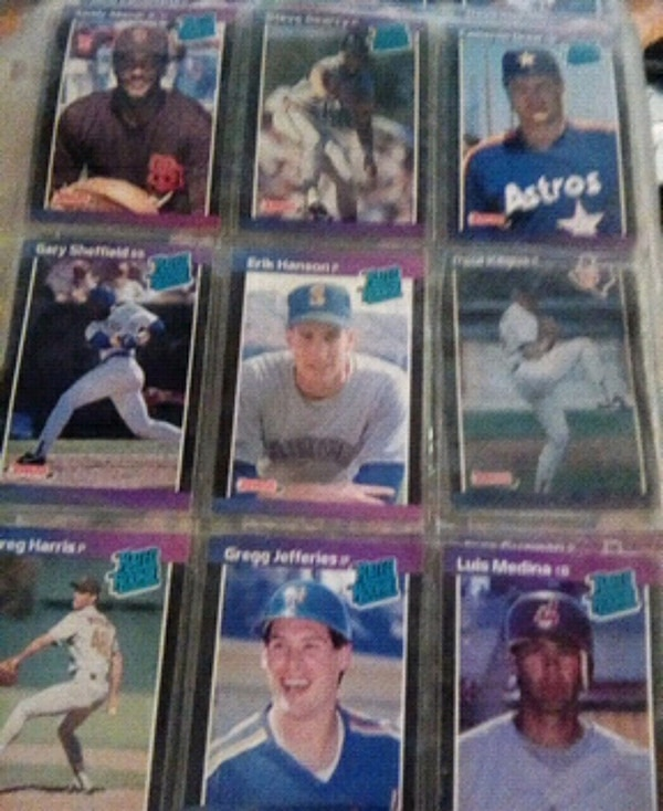Baseball Cards Gregg Jefferies Rated Rookie