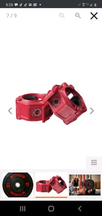 Rubber bumper weights for sale