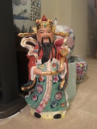 Chinese statue symbol for prosperity