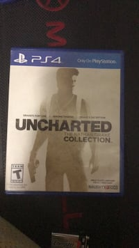 Sony PS4 Uncharted The Nathan Drake Collection case Virginia Beach, 23455