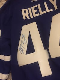 Autographed Rielly jersey