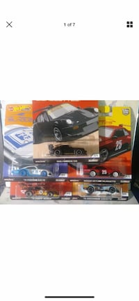 Hot wheels silhouettes set