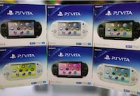 four assorted color game controllers Dallas, 75247