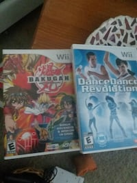 Wii games $8 each. DDR mat comes with game for extra $10