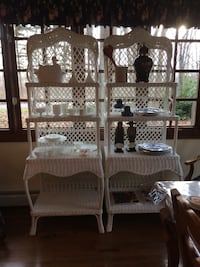 Wicker shelves 75 each or two for $100 Canton, 48188