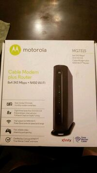 Cable Modem with router Herndon, 20170