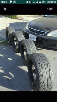 Tires and rims(225/50R16)