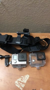 Silver gopro hero 4 set Washington, 20024