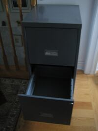 Moving Sale - Metal 2-drawer Filing Cabinet - Like New