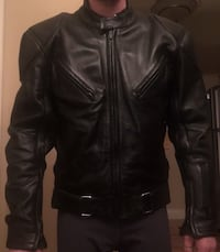 Black leather zip-up jacket Winnipeg, R3R 1Z7