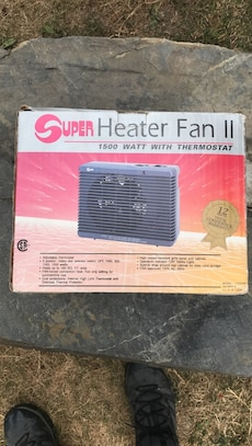 Space heater new in box