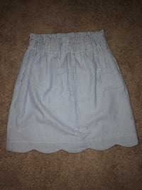 women's white and gray striped skirt Rockville, 20850