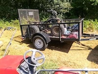 Trailer and 4 wheeler 800.00 firm Flowery Branch