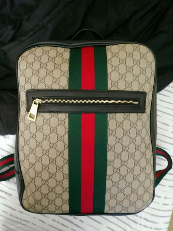 4f6a490b98ea Used brown and green Gucci backpack for sale in Conyers - letgo