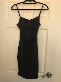 black spaghetti strap mini dress Calgary, T3C