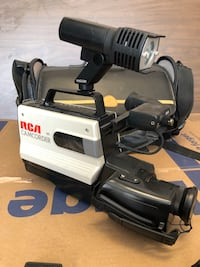 vintage VHS Camera - package *non working