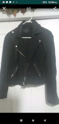 Nubuck Leather jacket from lucky brand