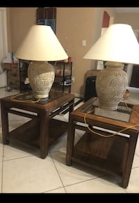 Side tables Hollywood