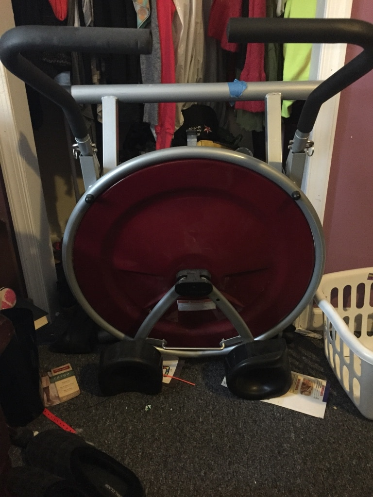 black and red ab circle pro, used for sale  Phillipsburg