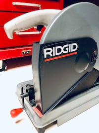 Ridgid Cut Off Saw & extra Disc Mapleton, N0G