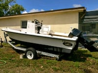 17' 1990 Dusky boat and trailer Port Richey