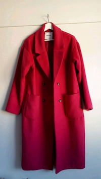 Long oversized bubble-gum colored Monky coat Oslo