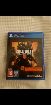 PS4 Call of Duty Black Ops 3 game case Greater London, EN2 7RN