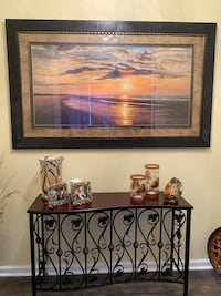 Hallway Table With Picture Port Saint Lucie, 34987
