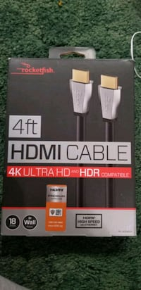 HDMI cable 4 ft.