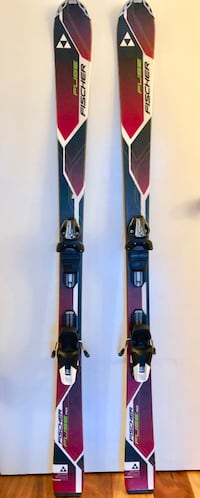 Fischer Fuse 150cm All mountain skis. Used only once
