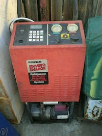 Antifreeze recycler recovery and recharging system Martinez, 94553