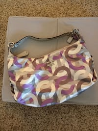 Purple and gray Authentic Coach bag Greenbelt, 20770